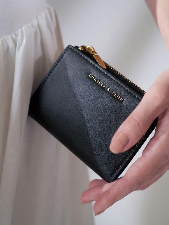 Dompet Kecil Mini Top Zip, Black, hi-res