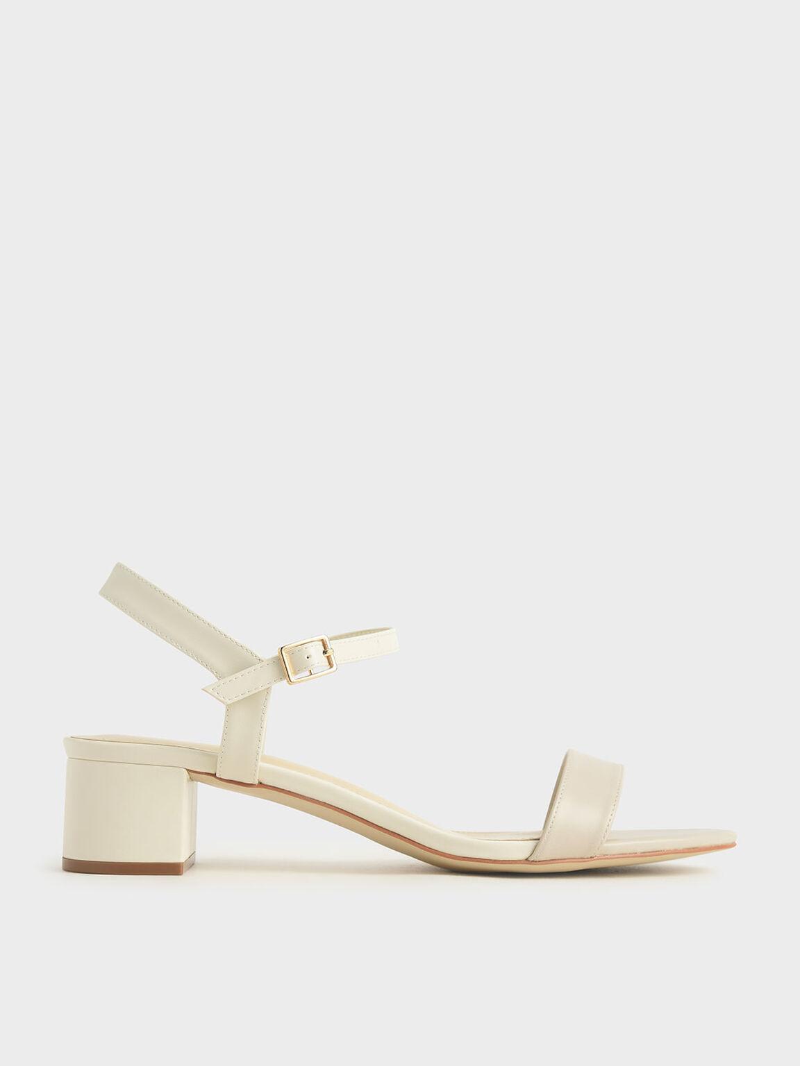 Sandal Open-Toe, Chalk, hi-res