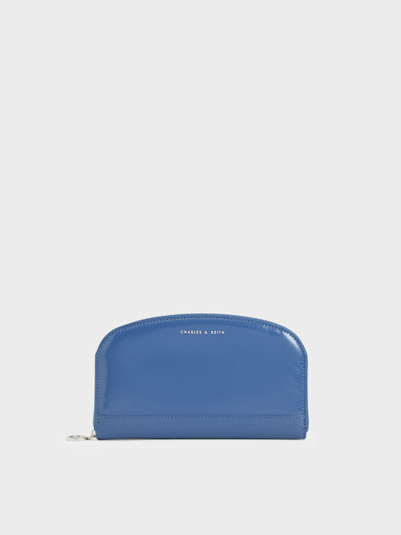 Dompet Panjang Curved Mini, Blue, hi-res