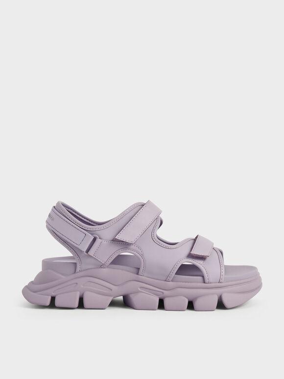 Sandal Chunky Sports, Lilac, hi-res