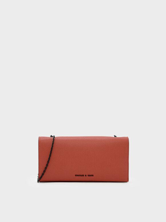 Dompet Panjang Klasik, Brick, hi-res